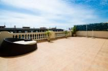 Pethouse in Barcelona for rent, two terraces